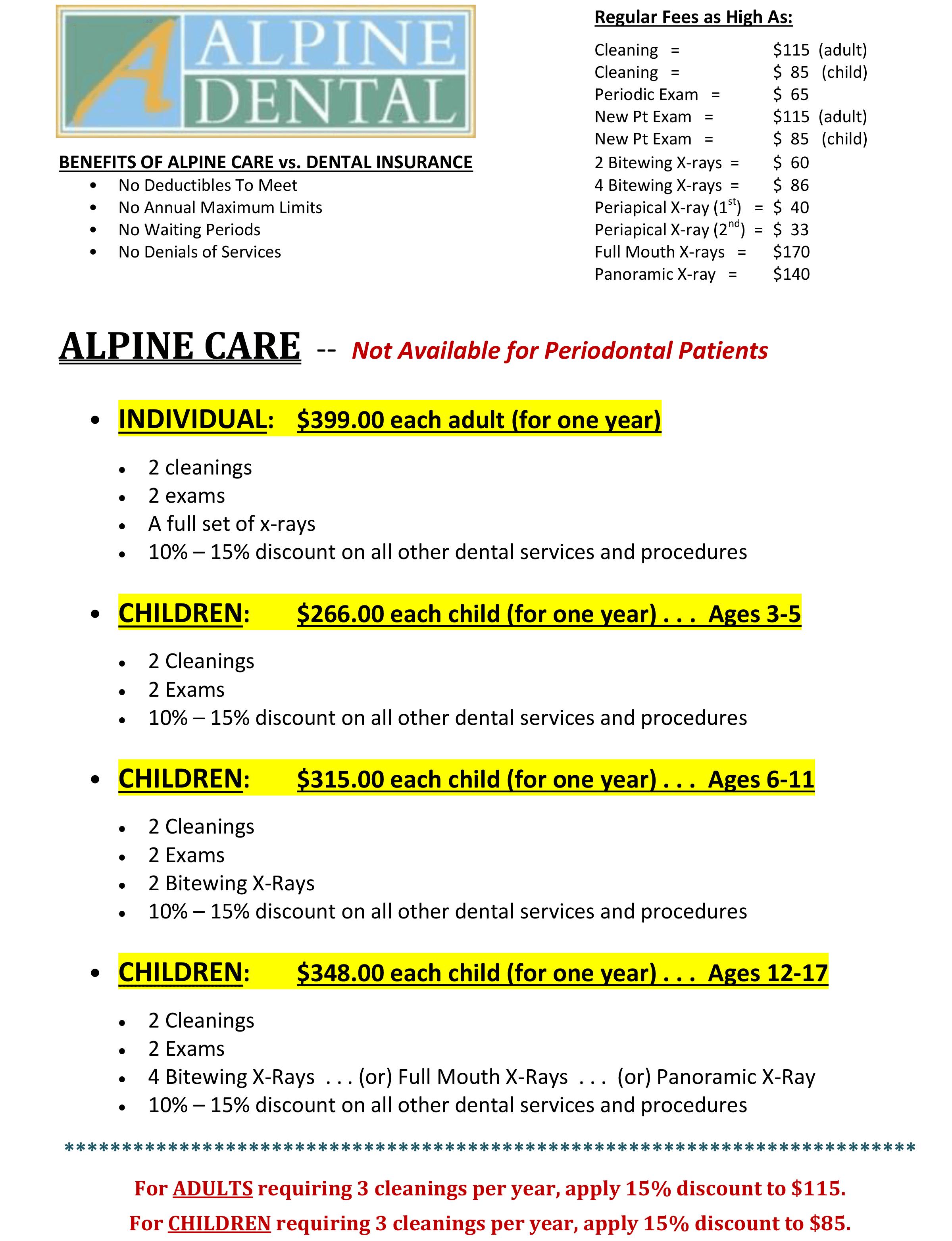 Our Alpine Savings Plan spreadsheet